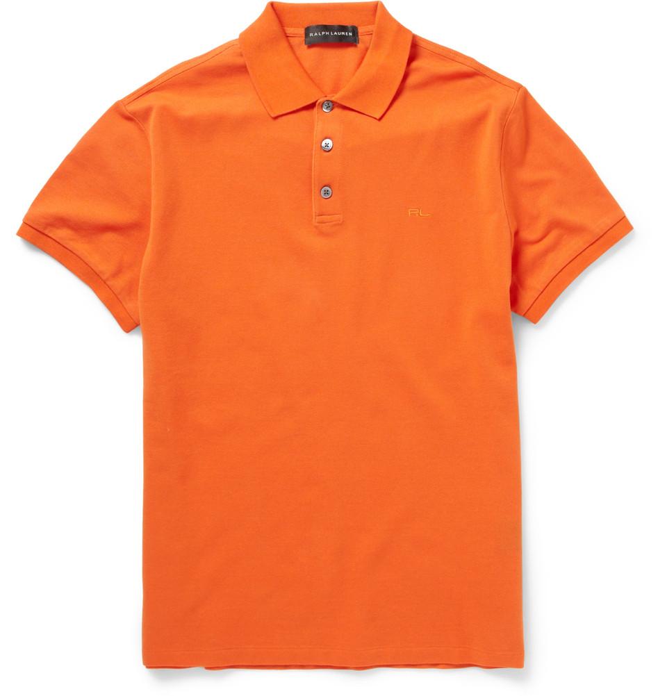 Ralph lauren blue label bullion big pony polo shirt in for Ralph lauren black label polo shirt