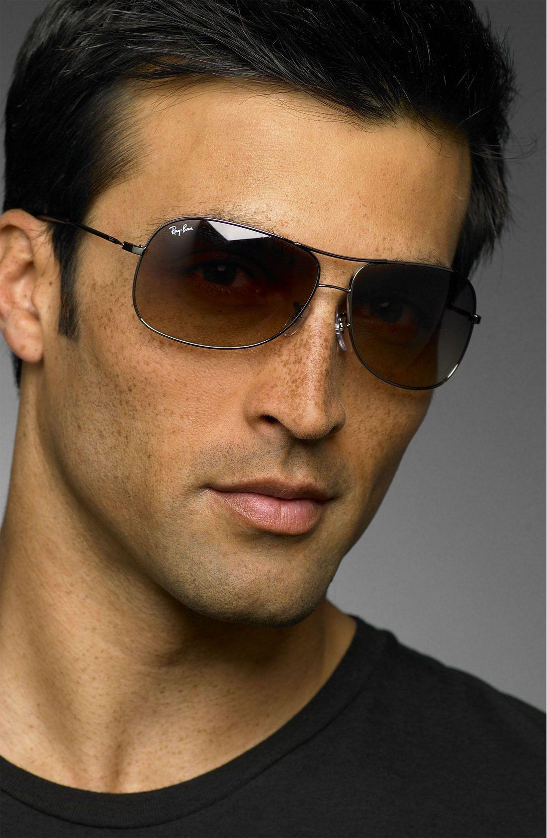 Ray Ban Metal Aviator Sunglasses  ray ban square aviators sunglasses money in the banana stand