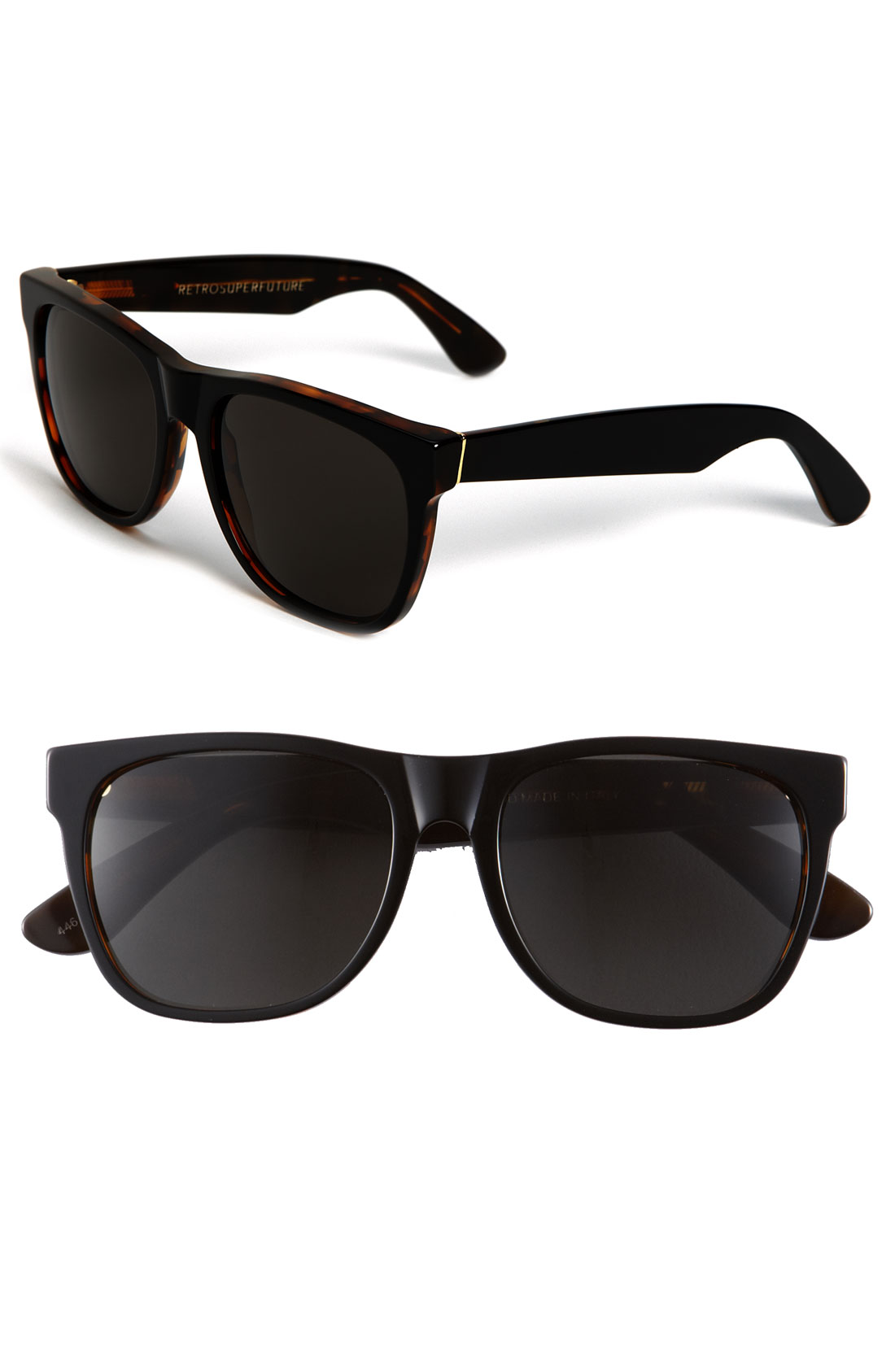 Retrosuperfuture Sunglasses in Black for Men (dark havana ...
