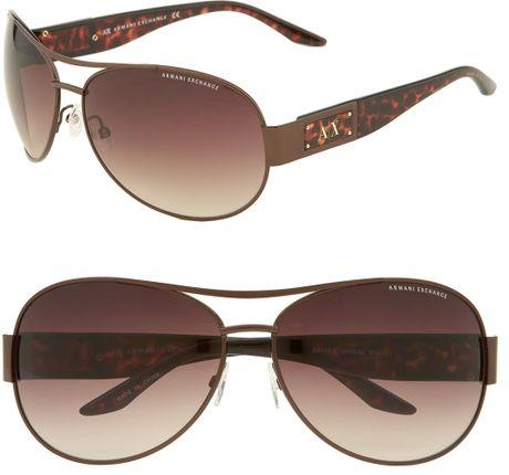 0b70cd6ec9752 Armani Exchange Ax 234  s Aviator Sunglasses