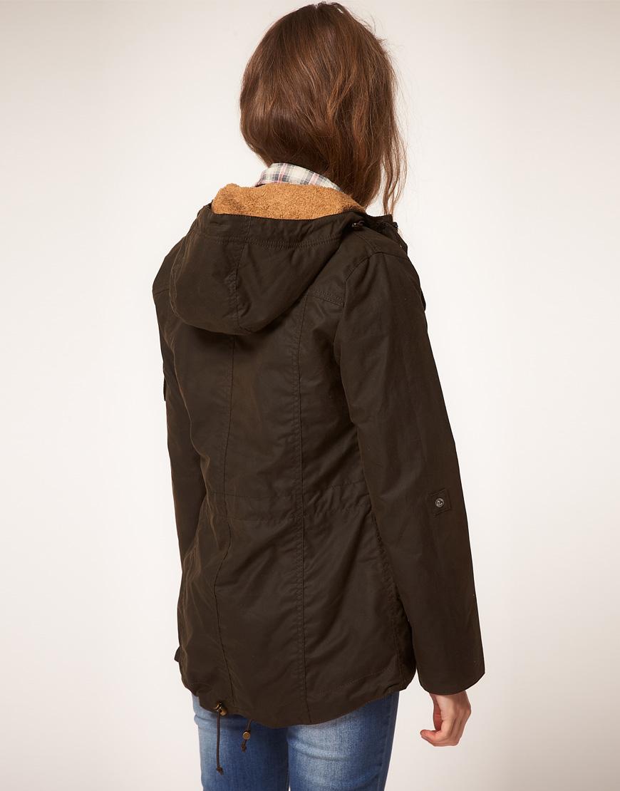 46dfa455e1 womens barbour winter force waxed parka jacket