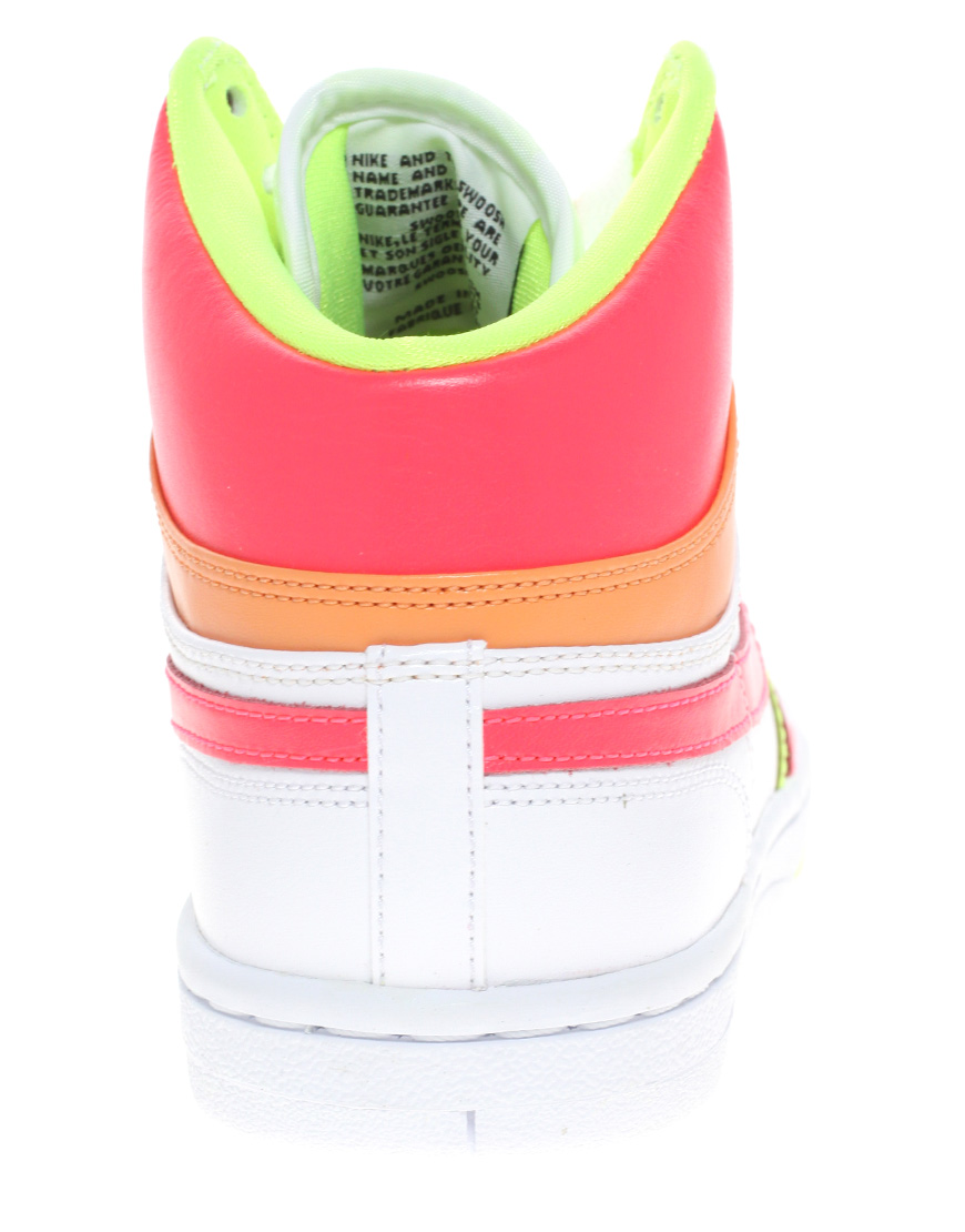 d9f4a89609a9 Lyst - Nike Court Force High Top Trainers in White