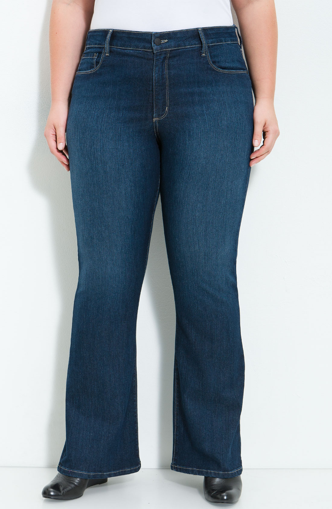 not your daughter 39 s jeans barbara boot cut stretch jeans. Black Bedroom Furniture Sets. Home Design Ideas