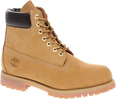 Timberland Classic 6 Quot Premium Boots In Brown For Men Tan