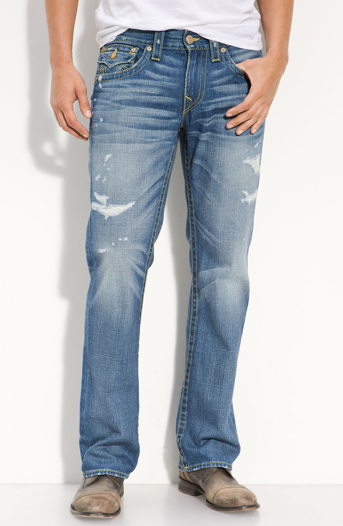 True Religion Ricky Vintage Jeans in Blue for Men ...