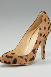 Charlotte Olympia Two-face Calf Hair Pump - Lyst