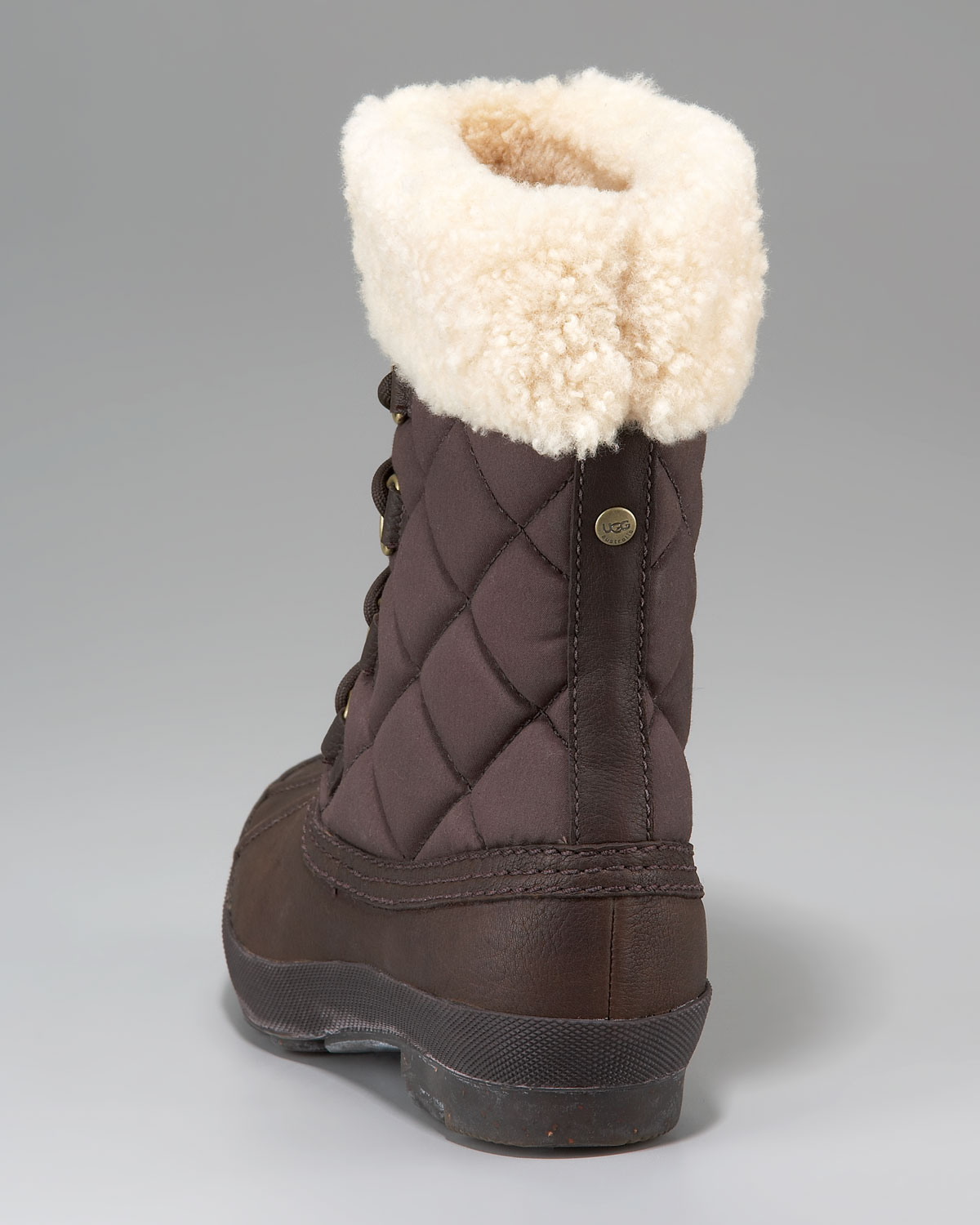 5d151d4f7cb UGG Brown Newberry Lace-up Boot