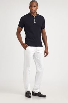 Jil Sander Cotton Polo - Lyst