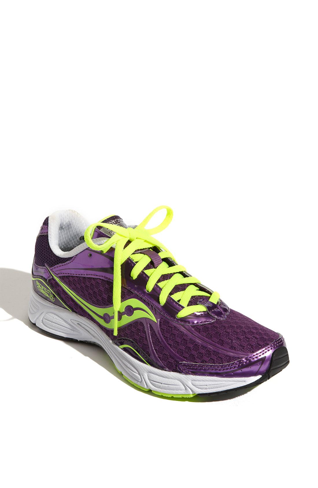Saucony Womens Purple Training Shoes