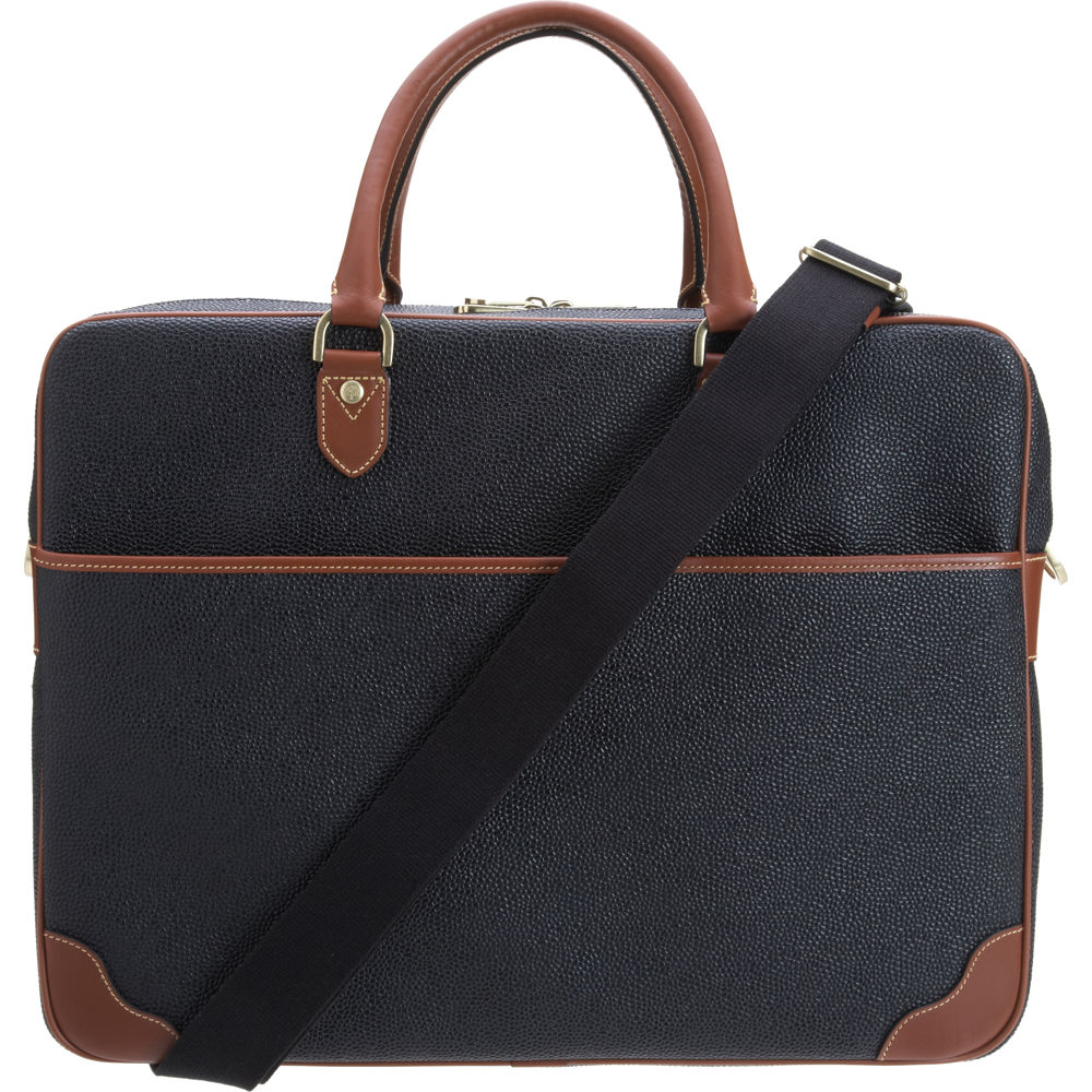 460c909104 ... where to buy mulberry scotchgrain overnight briefcase in blue for men  lyst ac172 4c0f4 ...