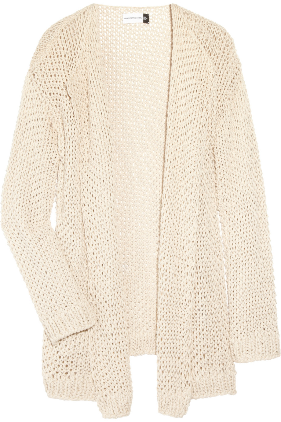 Lyst wool and the gang jolie mimi hand knitted cotton - Gang and the wool ...