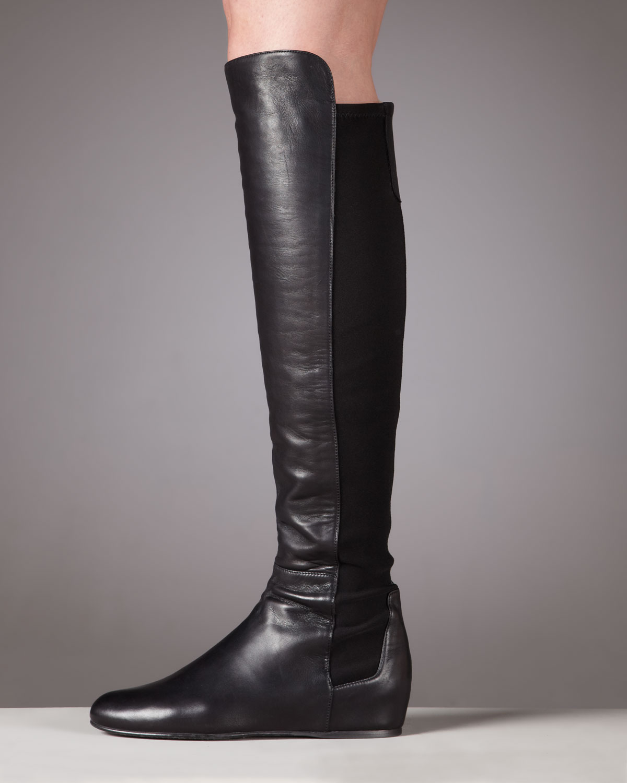 a53bdce5198 Stuart Weitzman Black Internal Wedge Boot