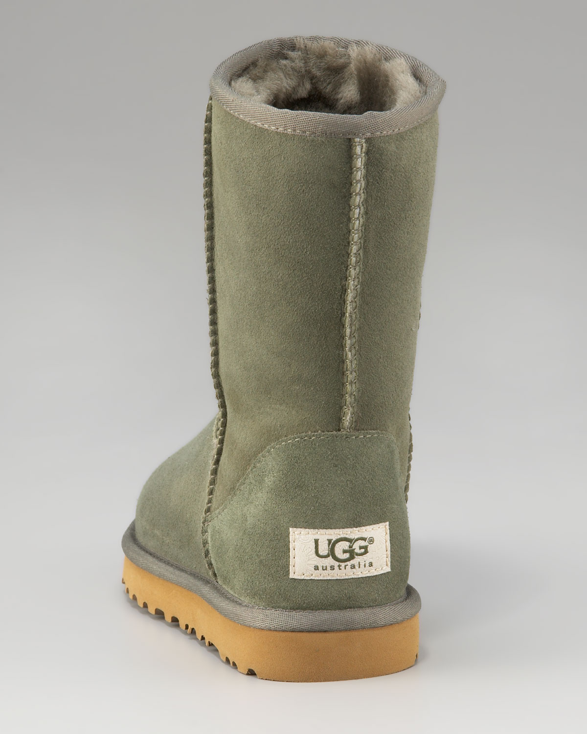 9e13b4ec2da UGG Green Classic Short Shearling Boot