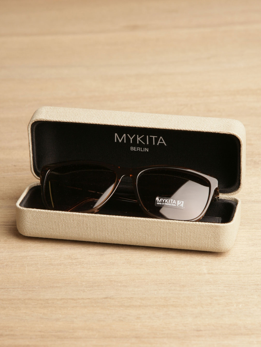 Mykita Debbie Sunglasses in Brown