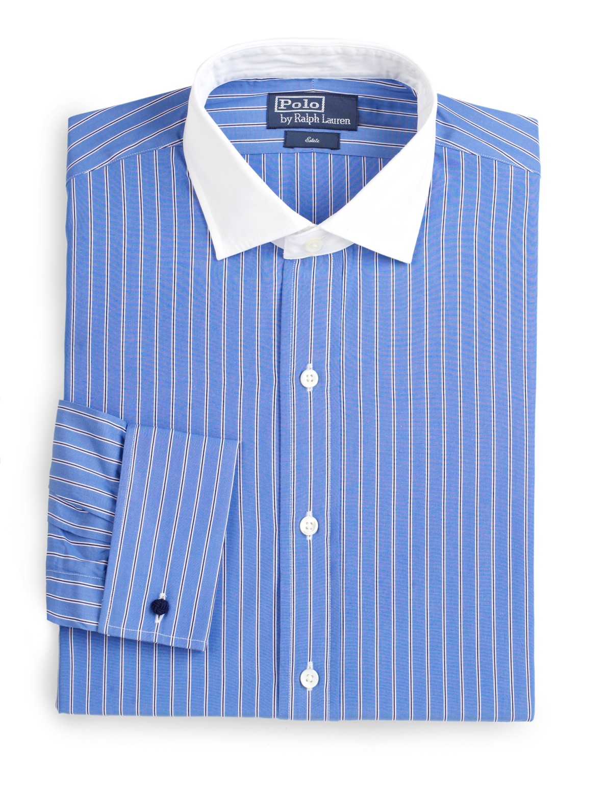 polo ralph lauren custom fit striped cotton poplin dress