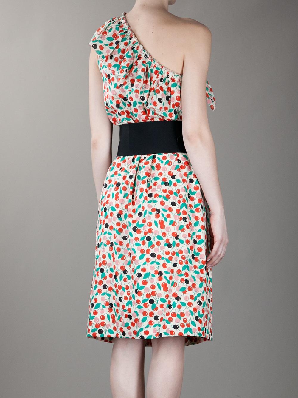 Sonia Rykiel Cherry Dress Lyst