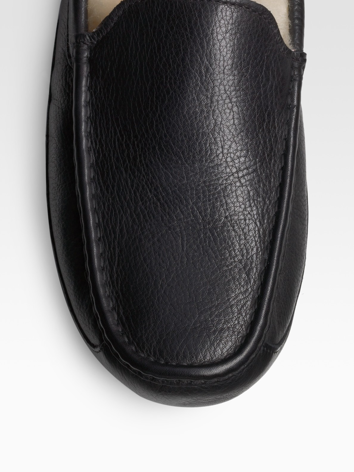 ugg slippers ascot leather