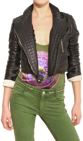 Givenchy Biker Style Nappa Leather Jacket in Black - Lyst