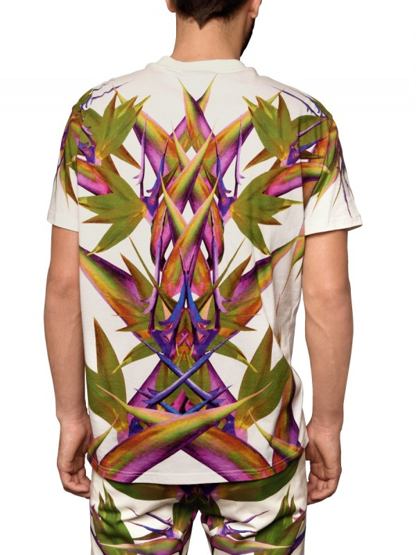 Lyst - Givenchy Birds Of Paradise Tee in White for Men