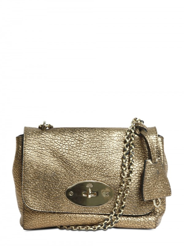 0d6f23f302 czech mulberry bayswater leather tote bag 67b01 43ea5  new arrivals lyst  mulberry lily maxi grain metallic shoulder bag in metallic a0d74 f31a7