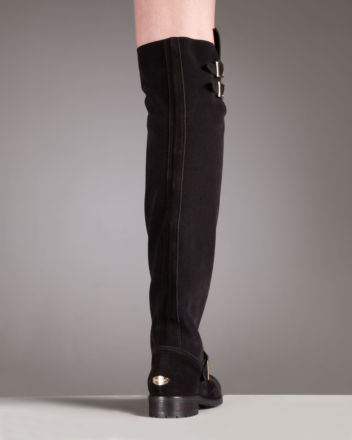 Jimmy Choo Suede Over-The-Knee Boots free shipping newest Q9gcqidK