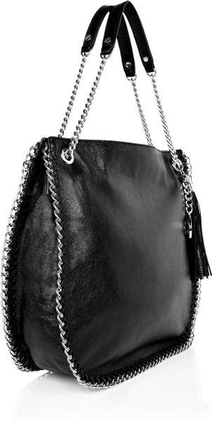 Michael Michael Kors Chelsea Long Shoulder Bag In Black Lyst
