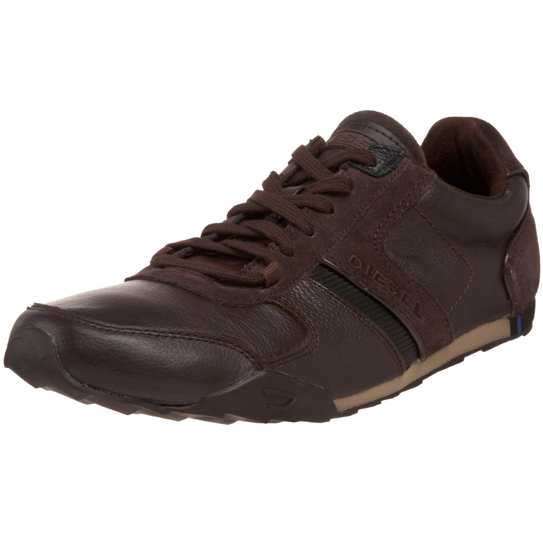 Diesel Mens Loop Lace Up Shoe in Brown for Men (coffee ...