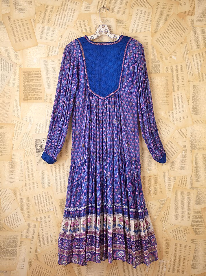 Free People Vintage Indian Gauze Dress Lyst