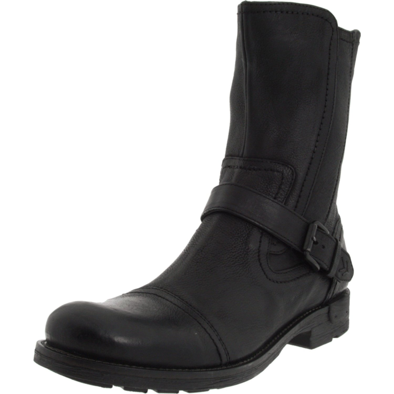 kenneth cole reaction mens rev the engine boot in black