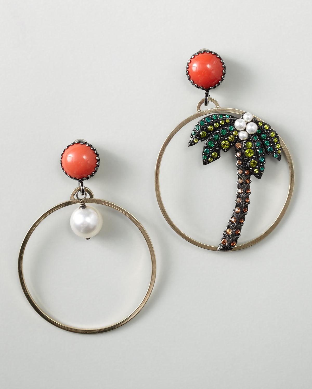Lanvin Drop Earrings in Metallics VxfmM