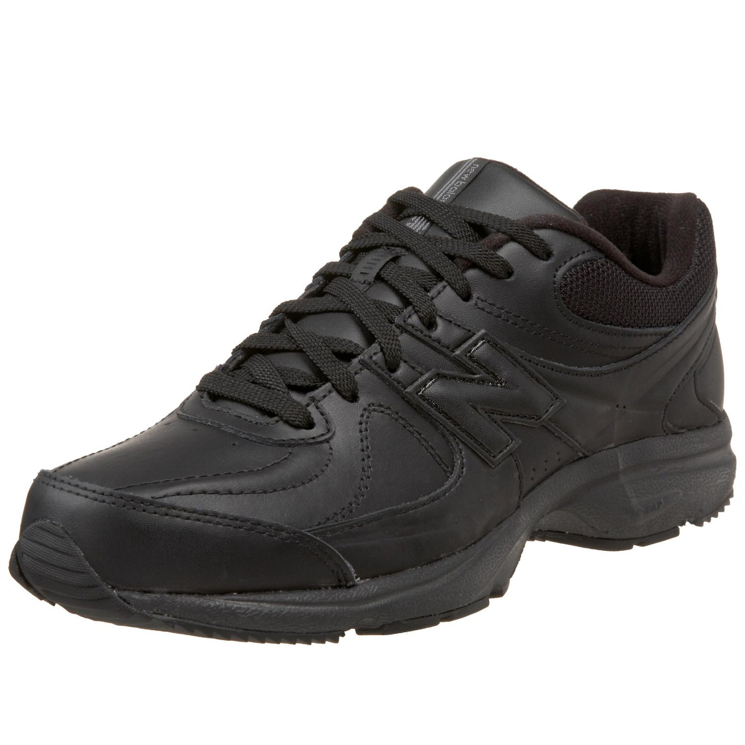 new balance mens mw410 health walking shoe in black for