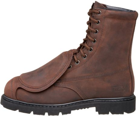 Red Wing Worx By Shoes Mens 8 Met Guard Boot in Brown for Men