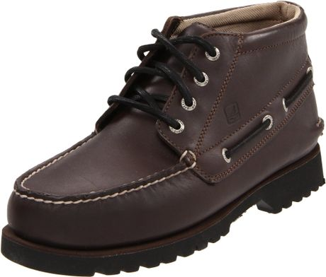 Sperry Top Sider Mens Boat Lug Chukka Boot In Brown For