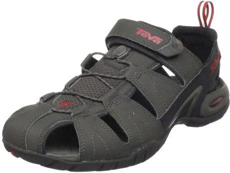 Model Teva Omnium Closed Toe Sandals  Sportsman39s Warehouse