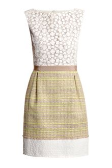 Giambattista Valli Bi-pattern Dress - Lyst