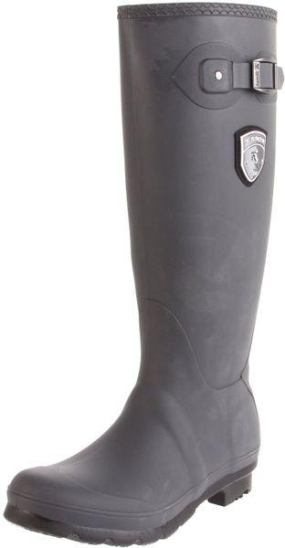 Kamik Womens Jennifer Rain Boot In Gray Charcoal Lyst