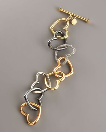 Marc By Marc Jacobs Jumbled Heart Bracelet 76 Sold Out