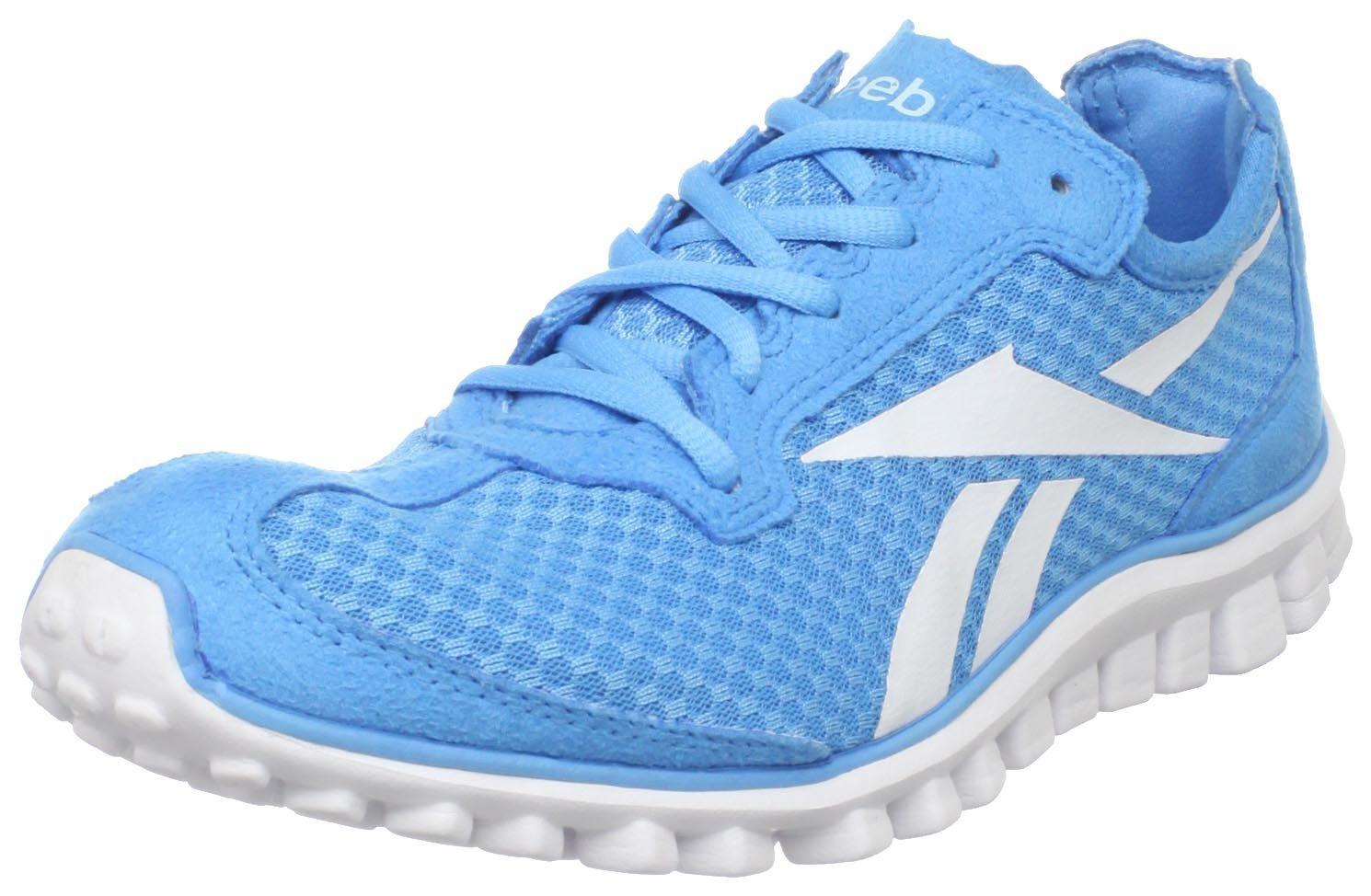 Reebok Womens Realflex Running Shoe in Blue (blue blink ...