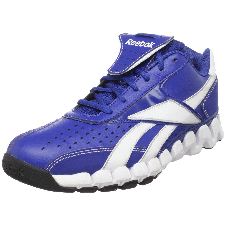 reebok mens vero iv low zig trainer baseball shoe in blue