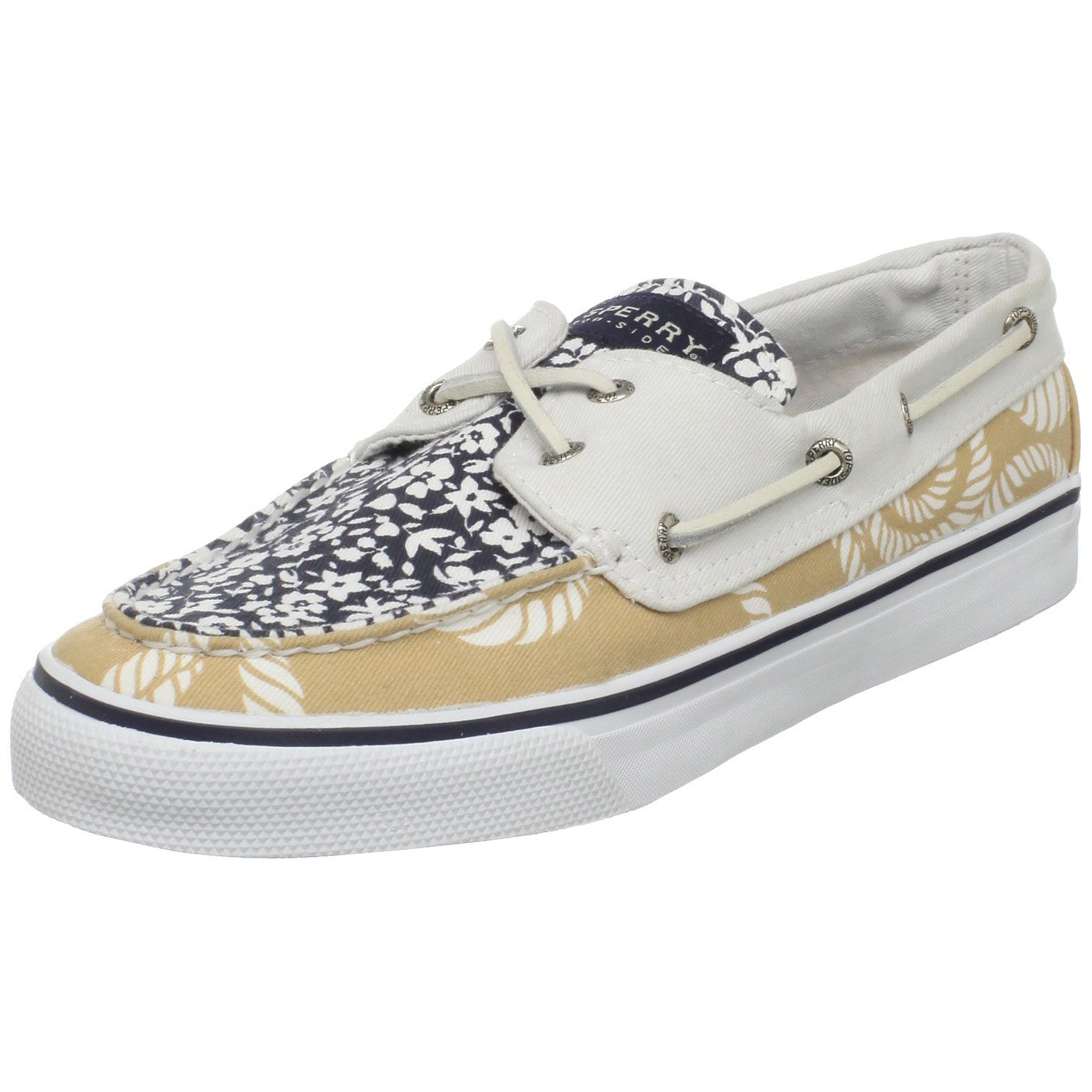 White Sperry Boat Shoes Womens