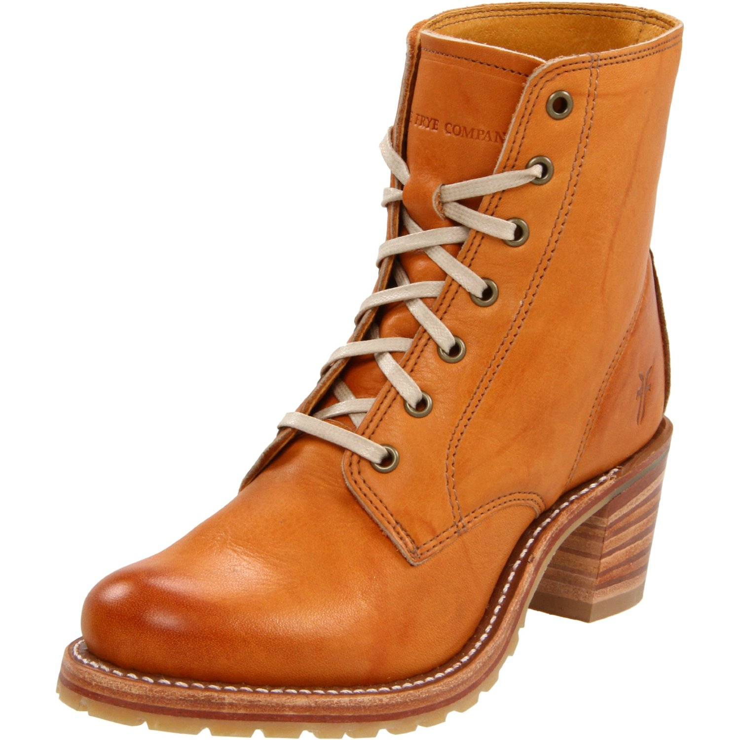 Popular Frye Women39s Shoes Campus Lug Lace Up Boots  Polyvore