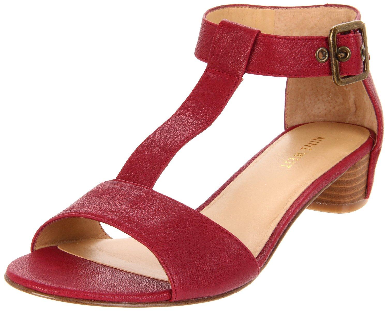 nine west nine west womens briteside tstrap sandal in