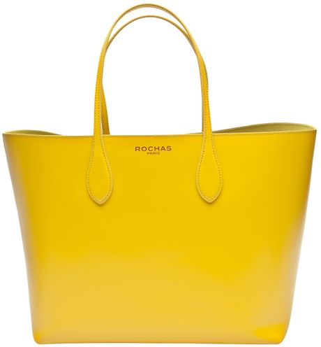 Rochas Borsa Tote in Yellow