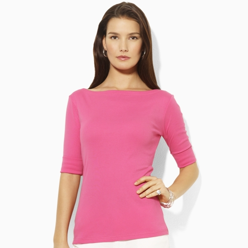 ever popular best authentic shoes for cheap Lauren by Ralph Lauren Benny Elbow-sleeve Shirt in Pink - Lyst