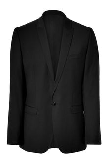 D&G Black Two-button Wool Blazer - Lyst