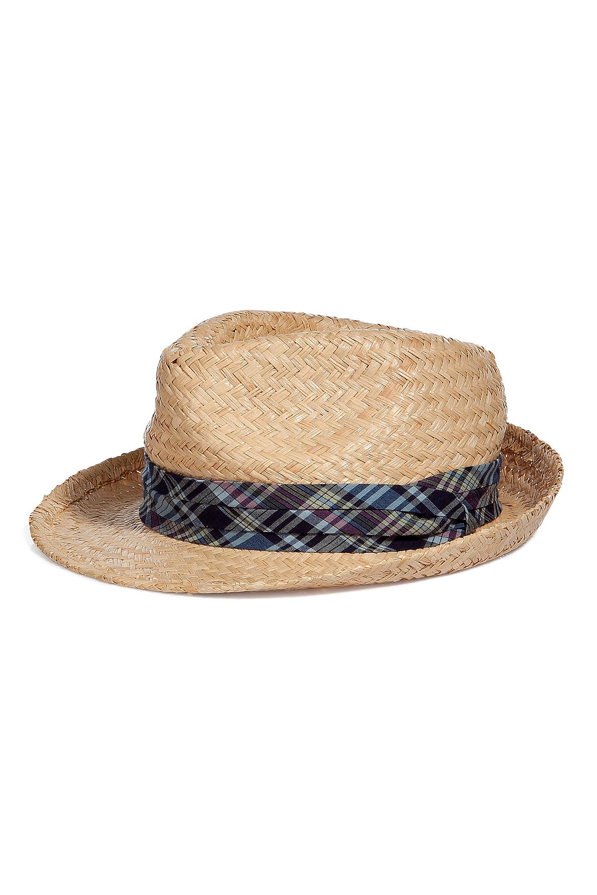 Lyst - Polo Ralph Lauren Hand-woven Straw Panama Hat in Black for Men