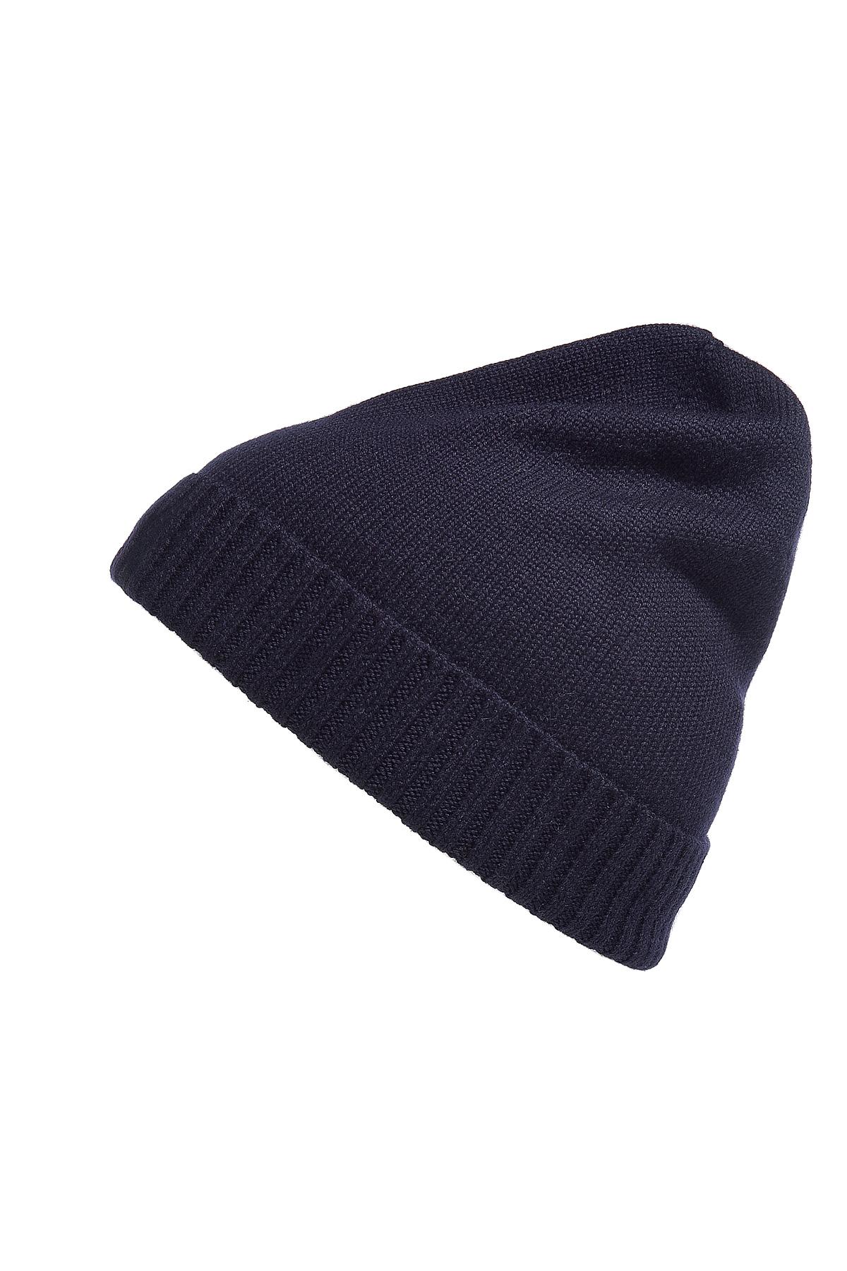 Lyst - Polo Ralph Lauren Hunter Navy Merino Wool Fold Up Cap in Blue ... 42d4e63cf7d
