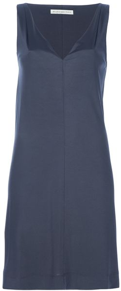 Balenciaga Draped Back Dress - Lyst