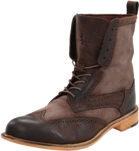 j shoes j shoes mens andrew 2 boot in brown for
