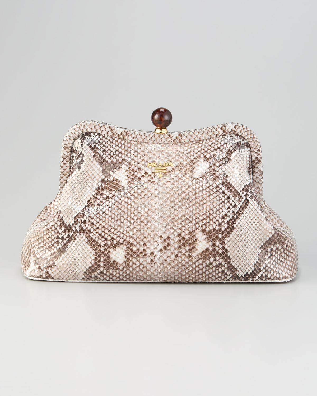 prada python wallet